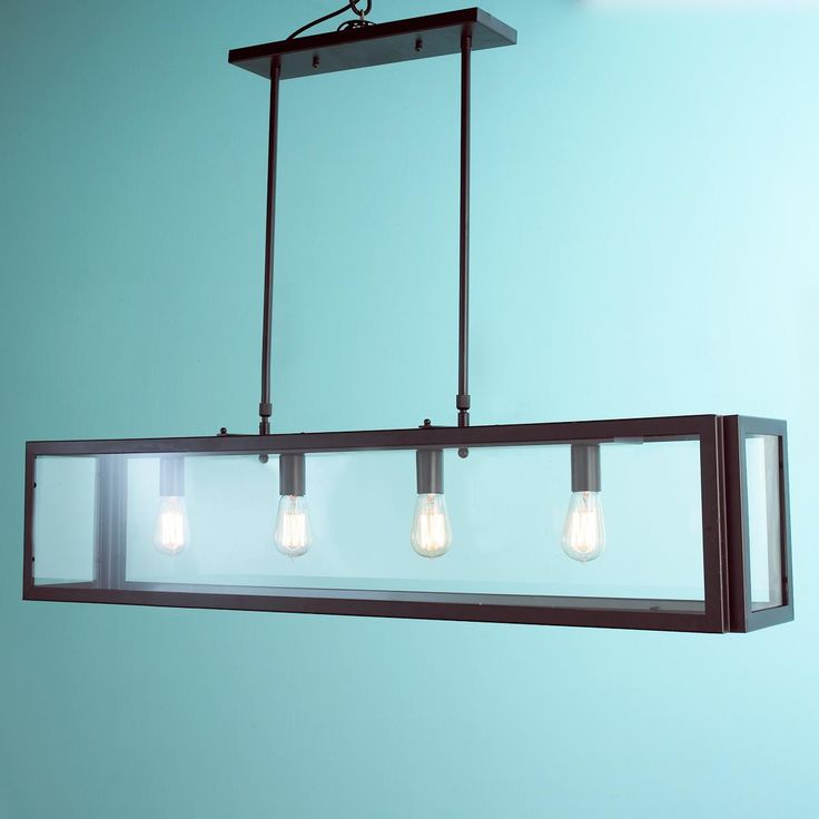 Industrial Modern Island Chandelier. Dining Room LightingHouse ...