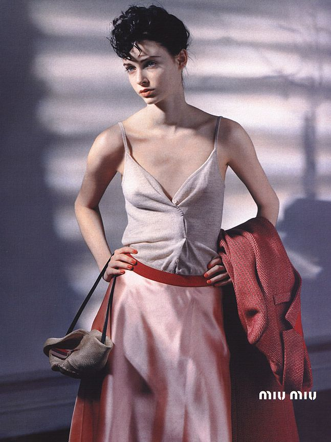 Miu Miu / Fall 2000  Ph: Horst Diekgerdes  Model: Jenny Vatheuer