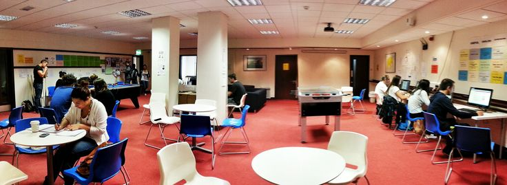 The student area