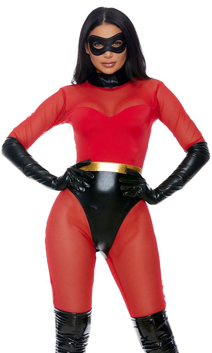 Super Suit Incredibles Superhero Adult Womens Halloween