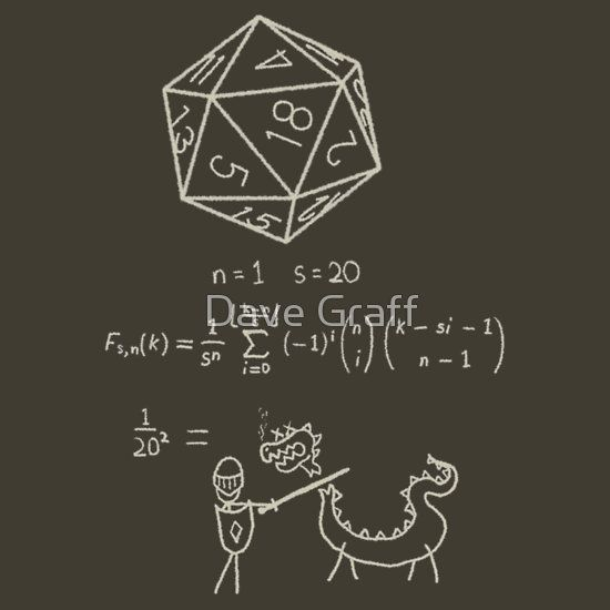 The science of 20 sided dice.
