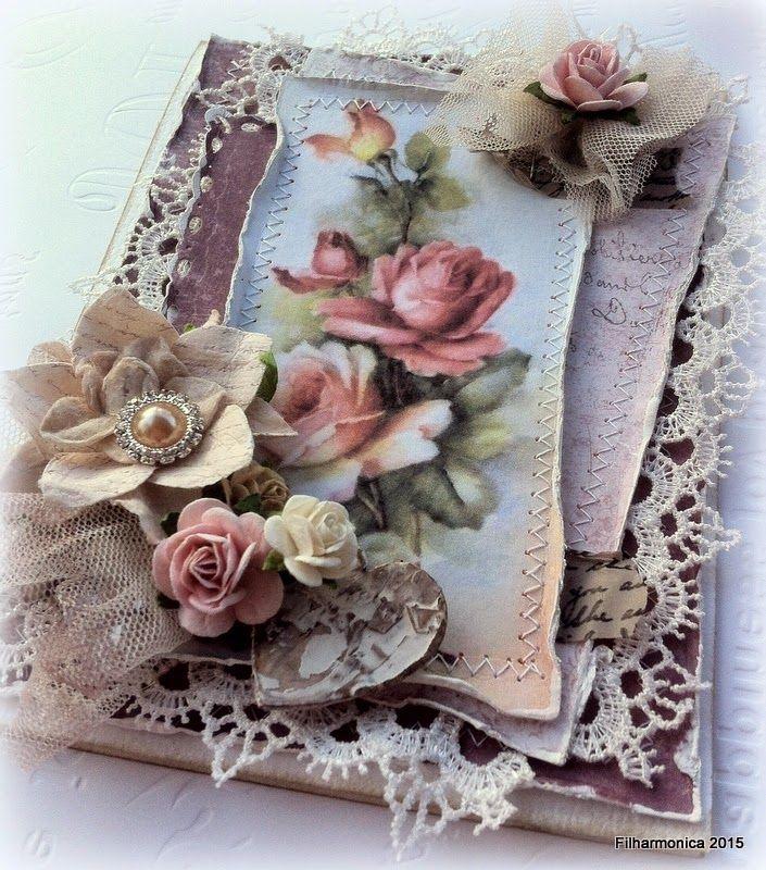 Live & Love Crafts' Inspiration and Challenge Blog: Rose Garden