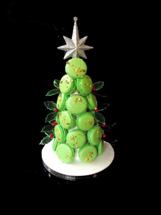 Vánoční stromek • z makronek