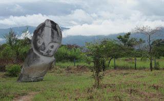 granite megaliths Lore Lindu