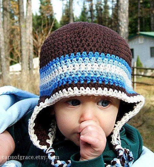 Free Crochet Earflap Hat Pattern Images Knitting Patterns Free