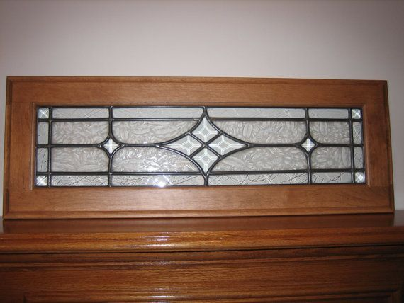 Bevelled Stained Glass, Custom Made For Your Window Or As Insert Into  Cabinet Doors. Additional Bevel Clusters Available.