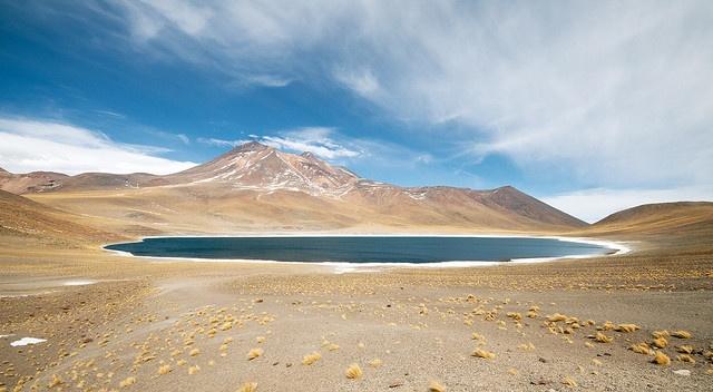 San Pedro de Atacama, Laguna Miñiques by Obliot, via Flickr