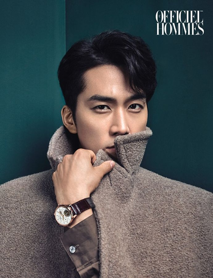 Song Seung Heon Is The Perfect Winter Man For L'Officiel Hommes' December 2014 Issue | Couch Kimchi