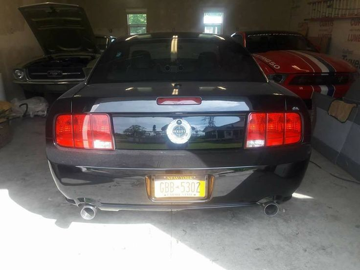 eBay: 2008 Ford Mustang 2008 Mustang Bullitt LIMITED production BLACK #fordmustang #ford