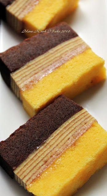 I Love. I Cook. I Bake.: Cream Cheese Lapis Legit & Surabaya Layered Cake