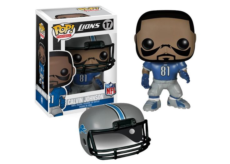Funko Pop NFL Wave 1 - Calvin Johnson Pop! Vinyl Figure