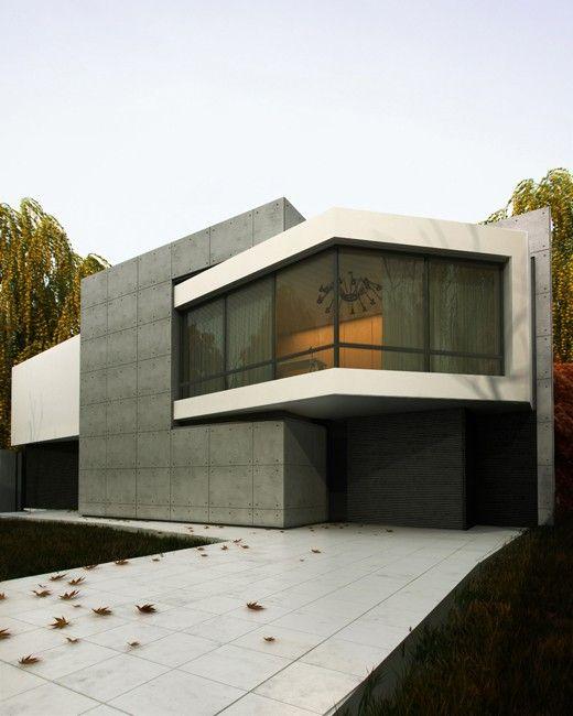 Angulation House, Kiev Design Studio Workshop Sergei Makhno