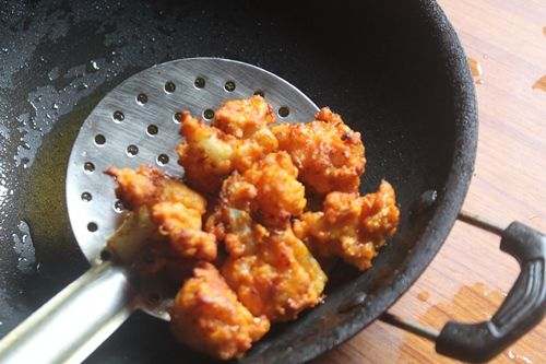 We make this very often at home. It is one of my go to recipe for gobi pakoras. Mom loved fried cauliflower like this or gobi 65 more than manchurians. So whenever we buy cauliflower we used to make this often. Similar Recipes, Gobi 65 Gobi Manchurian Dry Gobi Cashew Masala Chilli Gobi Check out...Read More