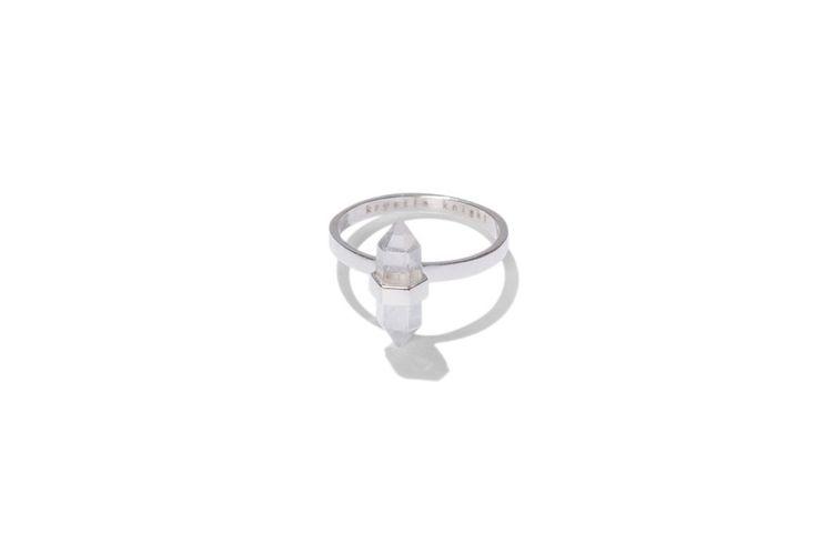 aqua ice   clear quartz $59