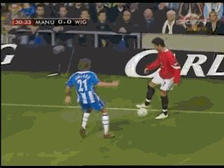 Back in the time - Ronaldo skills in MU - Football✖️More Pins Like This One At FOSTERGINGER @ Pinterest✖️