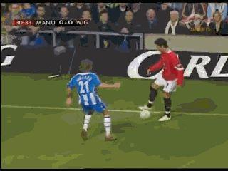 Back in the time - Ronaldo skills in MU - Football
