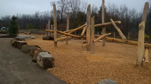 Huron Natural Area, Kitchener - Natural Playscape