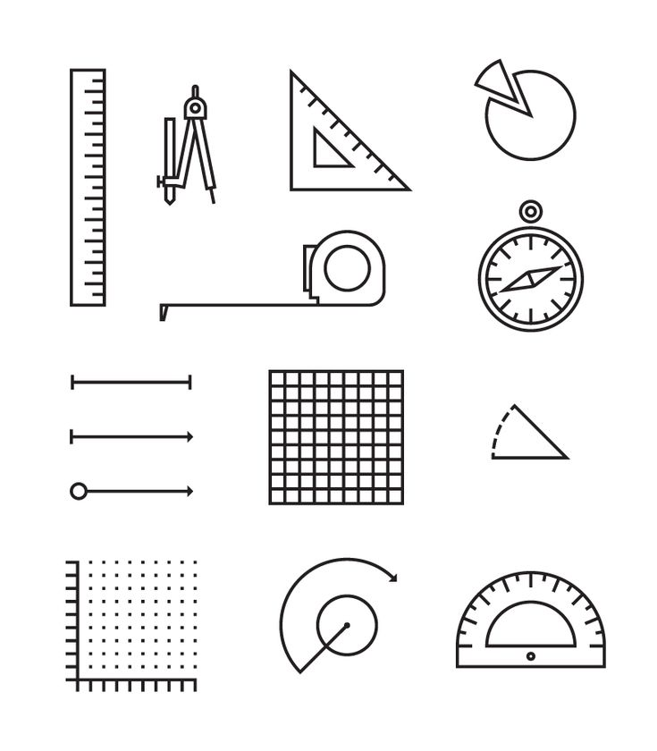 Mathematics Pictograms