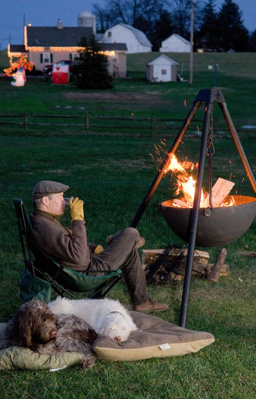 Cowboy Cauldron Fire Pit