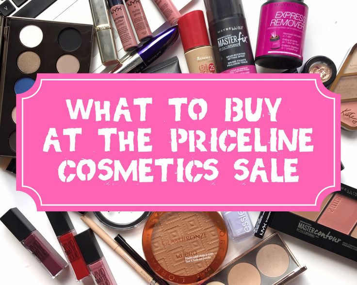What to buy when there's a drugstore makeup sale!
