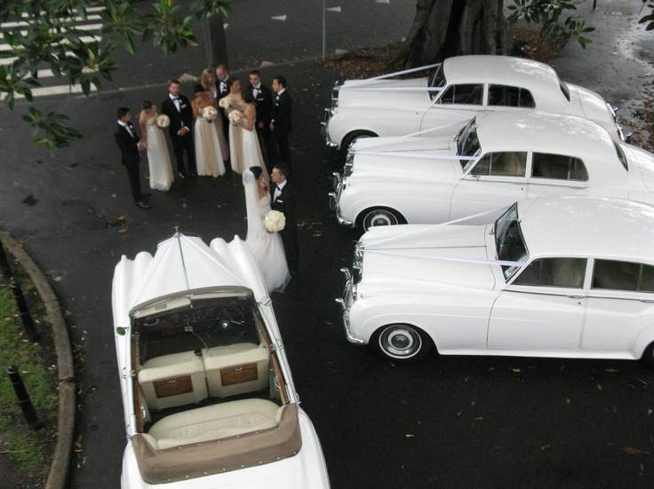 Rolls Royce wedding cars!!!