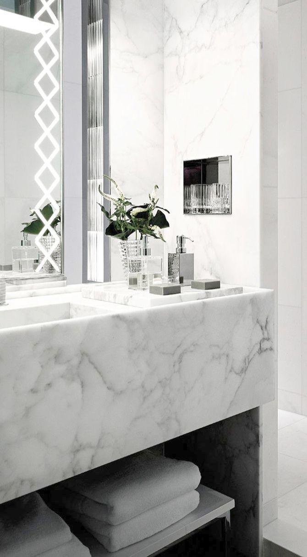 Elegant Bathroom Ideas Pinterest Luxury Bathroom Bins White
