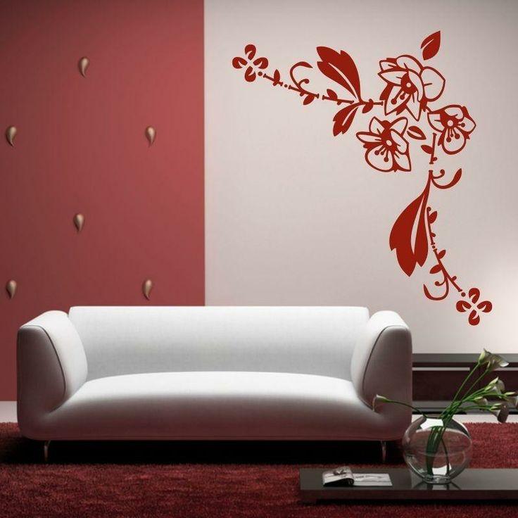 Naklejka - Ornament kwiatowy   Decorative sticker - Flower's ornament   27,99 PLN #wall_decal #sticker #flower #pattern #home_decor #interior_decor