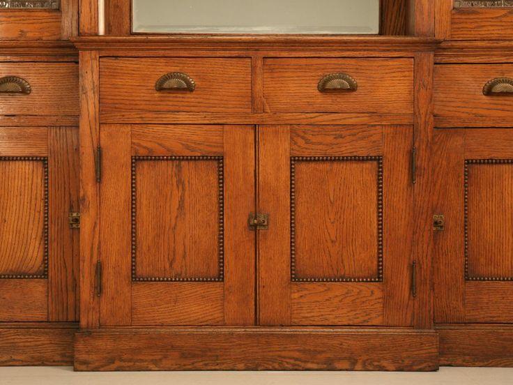 Oak Mission kitchen Cabinets  Antique American Mission