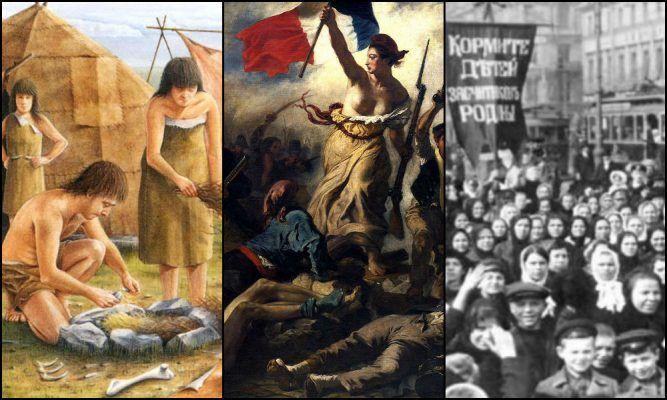 MERCEK | KADIN MÜCADELELERİ TARİHİ (1. bölüm): Tarih öncesi toplumlardan 8 Mart'a