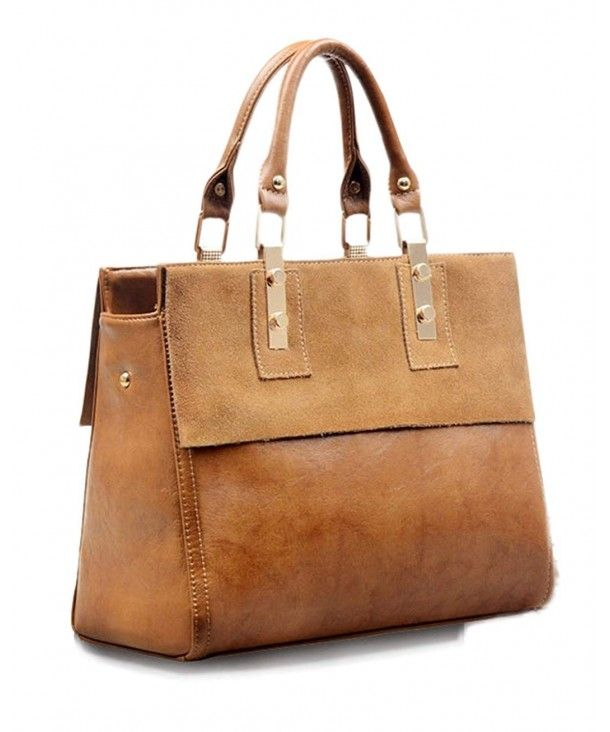 1a5cfd027e14 Women's Bags, Totes,Womens Classy Genuine Leather Top Handle Satchel ...