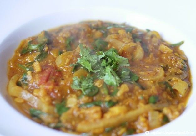 5:2 Diet Recipe – Lentil and Spinach Dahl (ish)