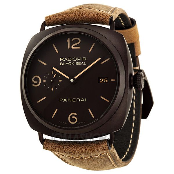 Panerai Radiomir Composite Black Seal 3 Days Automatic Mens Watch PAM00505