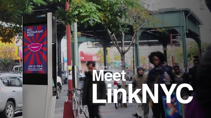 Select LinkNYC Kiosks Now Equipped With Android Tablets #Android #CES2016 #Google