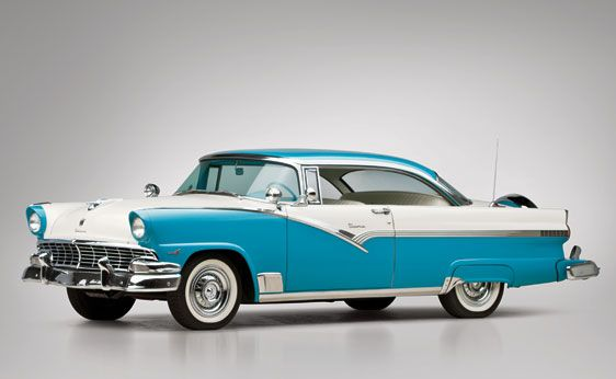1956 Ford Fairlane Victoria Hardtop Coupe - Car Pictures