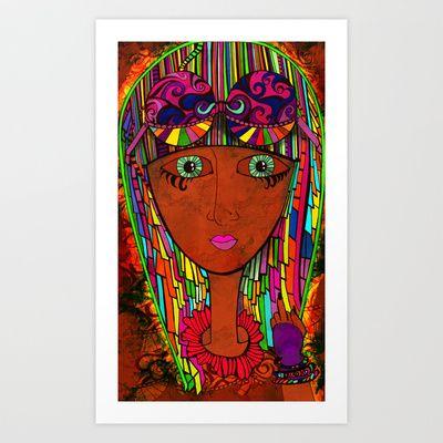 Gestures Art Print by Sketchbook Designs - $18.00