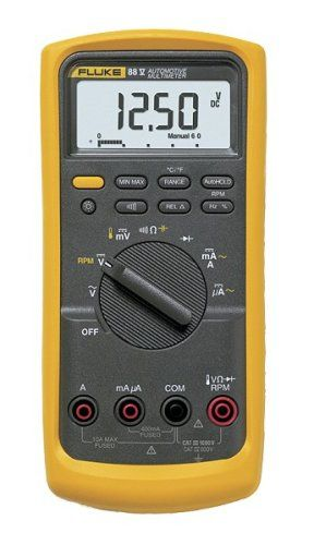 Fluke 88V 1000V Automotive Multimeter, 2015 Amazon Top Rated Multimeters & Analyzers #HomeImprovement