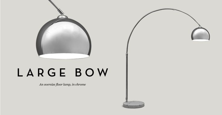 Large Bow Lamp £99