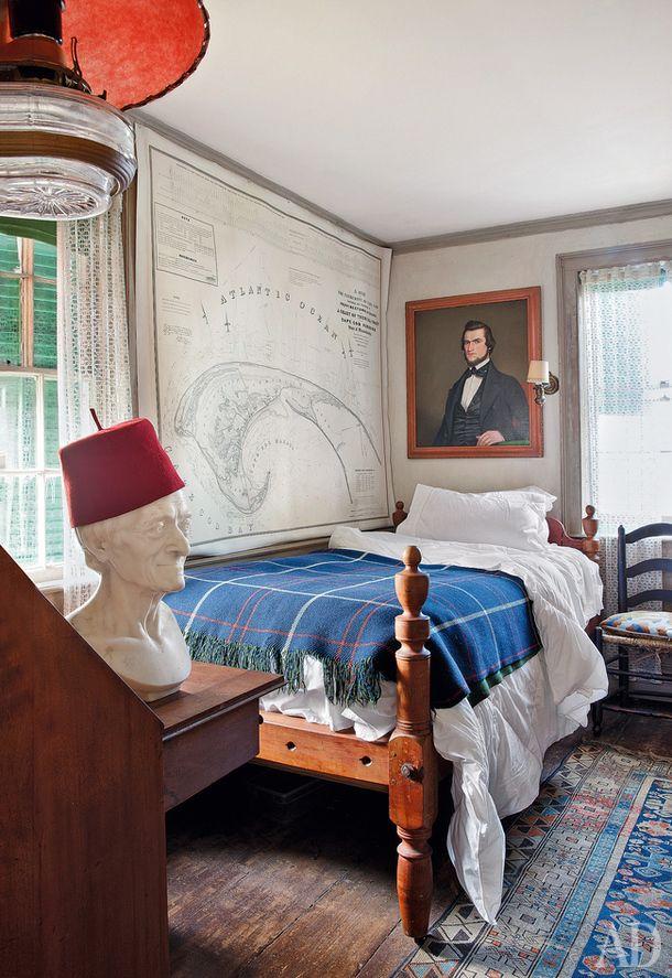 Дом художника Джона Дауда, Новая Англия.