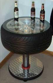 Resultado de imagem para decoração com pneus