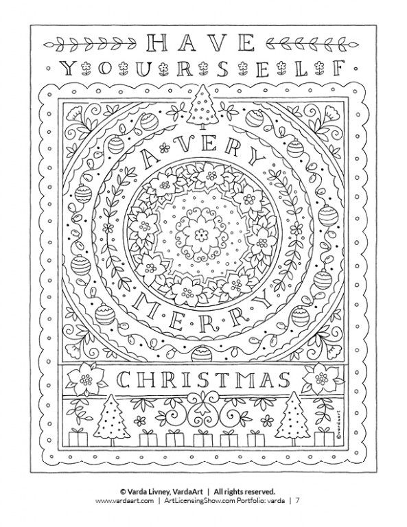 - Detailed Christmas Coloring Pages Free Printable Image Holiday Coloring  Book, Free Christmas Coloring Pages, Christmas Coloring Sheets