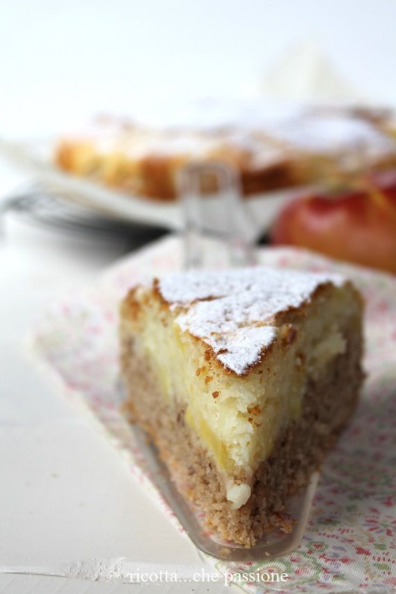 ricotta...che passione: Torta di mele, nocciole e cannella...per un non…