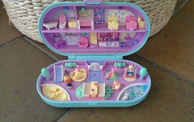 Polly Pocket in verschiedenen Formen | 28 Spielzeuge, die alle Kinder der 80ern kennen