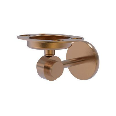 Allied Brass Universal Toothbrush & Tumbler Holder Finish: Brushed Bronze