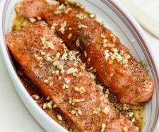 Salmón en escabeche con aceite dulce de aceituna negra #thermomix www.robot-cocina.com