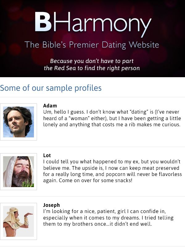 Christian dating look at profiles
