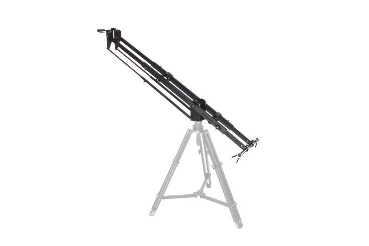 Kessler Crane PocketJibPro   - Grue compacte extensible 116-210cm / 0-22.5kg  - Déport possible entre laxe optique et le sol jusquà 2m70   - Pied et Contre poids fourni