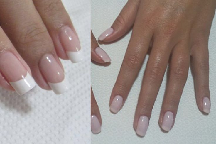 Whats the difference between a french and american manicure?