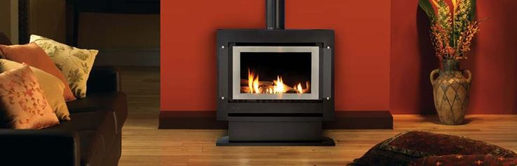 RINNAI SAPPHIRE PLINTH - With gentle flickering flames and cosy warmth, our Sapphire gas log fire gives you all the appeal of an open fire, but without all the bother that goes with it. And if its instant ambience wasn't enough, the Sapphire's 4.1 Star clean burning technology makes it a very cost effective way of heating your home. #Heating #GasHeating #Freestanding #Rinnai #HearthHouse