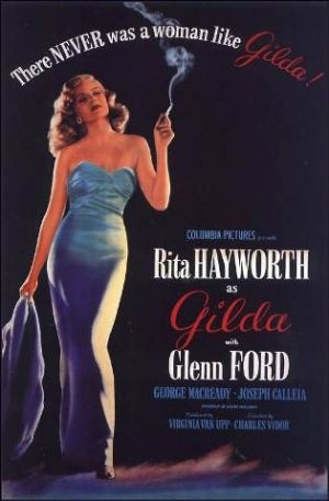Films with fashion influence - 1946 Gilda poster