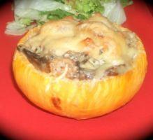 """Recette - Navets """"boules d'or"""" farcis aux champignons - Proposée par 750 grammes"""